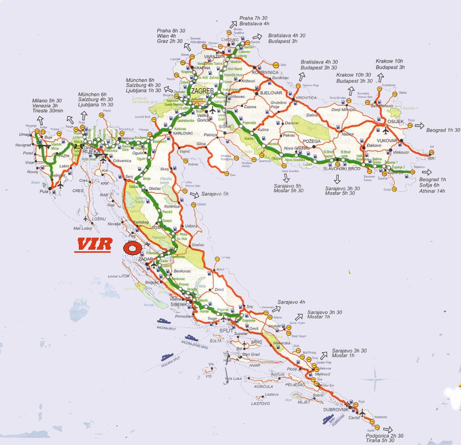 vir sziget térkép Térképek vir sziget térkép